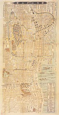 「明暦の大火」からの復興   江戸の町づくり   「江戸・東京デジタルミュージアム」古きをたずねて、新しきを知る。